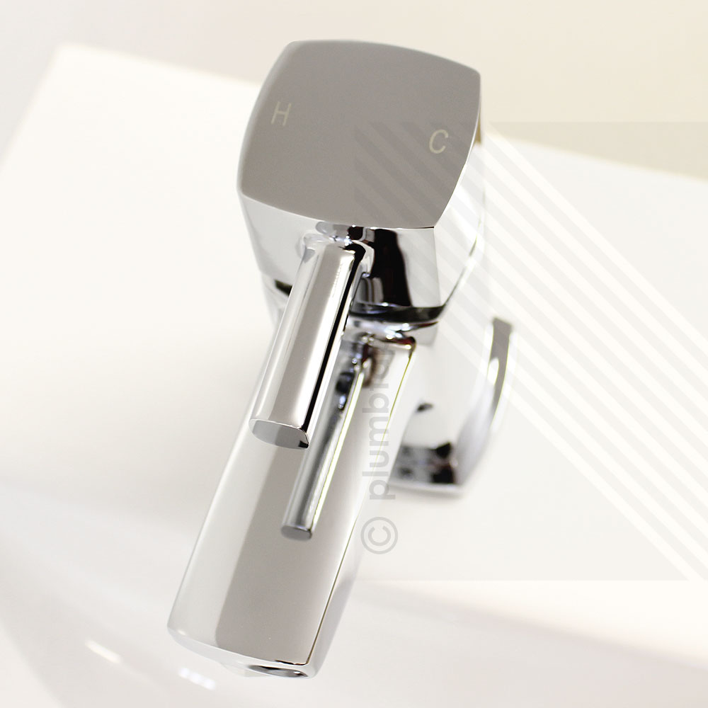 Orion Modern Cloakroom Basin Mixer Tap Including Pop Up Waste